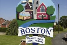 Boston, Lincolnshire, UK / This is the town where I attended college