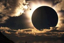 Sun and moon (thanks to @earthpics)