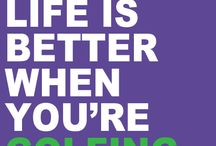 Golf Quotes / Fun and Serious Golf Quotes to keep you going.