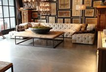 Coffee tables and ottomans