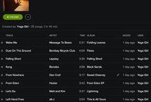 Yoga playlists / Music