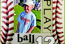 Scrapbooking Pages-Sports