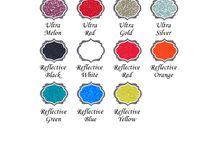 Vinyl Color Charts