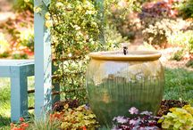 Outdoor landscaping / by Cheryl Pettus