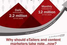 (P)infographics / A collection of infographics about Pinterest.