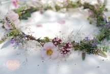Blumen Haarkranz