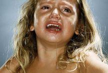 Traan en bang kinderen RH