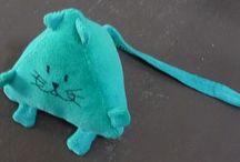 animaux/doudou en tissu