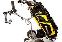 Remote control golf cart