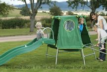 TP Explorer2 Climbing Frames / A great metal childrens climbing frame that grows with your child. From 18mths - 12yrs. See more at www.tpexplorer2.co.uk