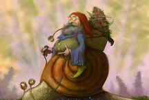 dwarfs and gnomes