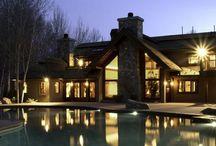 Domy slavných/ Houses of celebrity / I celebrity mají slabost pro kámen. / Celebrity also admire stone.  #celebrity #design