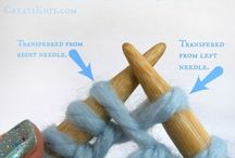 Knit and crochet tricks