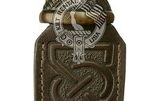 Sgian Dubh / The Sgian Dubh is a small knife that is worn in the sock when wearing a Scottish kilt outfit.