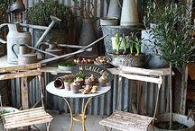 Vintage pots et brocs