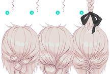 Jak rysować fryzury