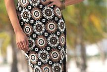 horgolt ruha fekete és mintás csillagokból
