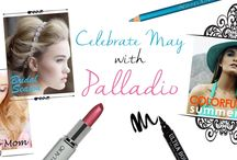 Palladio Makeup Line / This makeup line is know for their herbal and vitamin enriched cosmetics such as Ginkgo Biloba, Green Tea, Chamomile, Ginseng, Aloe Vera & Vitamins A, C, D, & E.