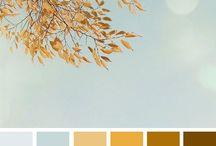 colour palets...decor...