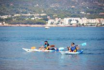 Watersport Tarragona / Suppen, zeilen, duiken, snorkelen, varen, kayakken en sportvissen in de Catalaanse provincie Tarragona en soms daarbuiten.