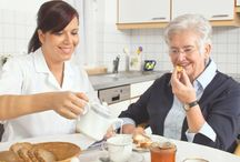 In-Home Care / In the comfort of home, seniors enjoy nonmedical care, help with activities of daily living and companionship by professional caregivers