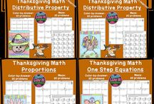Thanksgiving Ideas  (Groups and other )