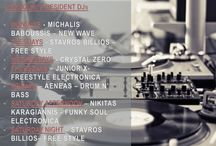 LOUKOUMI BAR's RESIDENT DJs / #newwave #freestyle #electronica #funky #soul