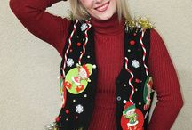 Ugly Christmas Sweater Party Sweaters / Ugly Christmas Sweater Ideas that are great for you upcoming Ugly Christmas Sweater Party!
