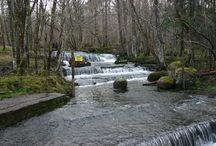 skovde  waterfall  szwecja