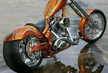 Chopper motorcycles