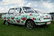 Автомобильные радости / Большинство людей не представляют жизни без автомобиля. А некоторые называют его ласково, придумывают имя. Покупают запчасти, кормят, радуют чем-то новеньким. Эта коллекция посвящается всем у кого есть ЛЮБИМЫЙ автомобиль ;)