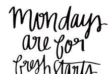 weekdays catch phrases