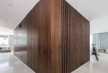 Wooden panneling