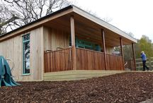 Heart of the Forest School / The Heart of The Forest School is based in the beautiful Forest of Dean in Gloucestershire, very close to where some of the team live. It's a very special school and we were thrilled to build them an #outdoorclassroom