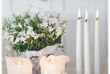 Candle / Kaarsen/ waxinelichthouders