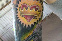 favorite disney characters sleeve (left arm)