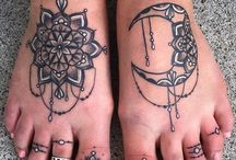 tattoos hvit