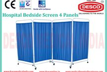 Bedside Screen 4 Panel Manufacturers India / Our organization is expert in delivering genuine quality Bedside Screen with 4 panels to the customers. These bedside screens are designed in compliance with the international quality standards. To know more visit our website.