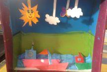 Attività artistiche / Lavori svolti dai miei alunni