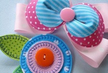 Craft ideas / Ribbon Felt Sew Furniture Etc