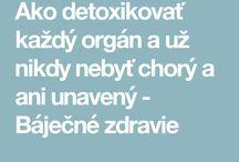 detoxitace těla