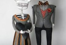 Day of the dead crafts   / Skulls and things / by Alicia Solorio