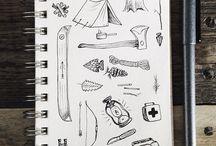 { sketchbook // notebook }