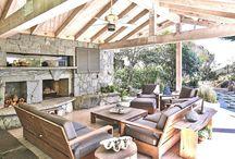 Outdoor Living Space / by Lauren Fisher