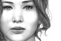The Girl On Fire / The Hunger Games  / by FireHeartF