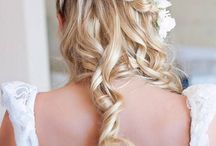 Wedding hair etc