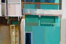 peinture architecture