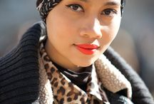 Head Wraps, Scarves and Hats / Various headwrap styles