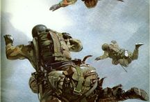 Parachutisten sterven niet ! ze zweven tussen hemel en aarde....