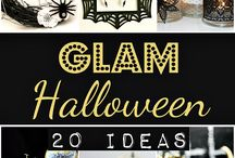 Halloween Glam / Halloween chic, from event styling to costumes!
